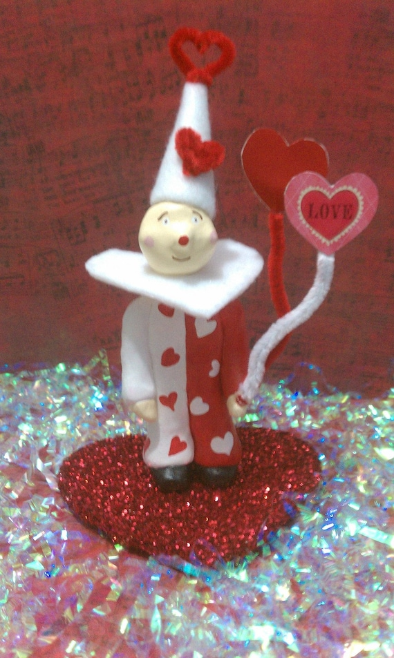 Valentine Clown Miniature