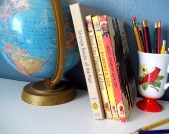 Instant Library-Vintage Kid's Educational History Books
