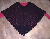 Lady Jane Plus Size Poncho CROCHET PATTERN - INSTANT Download