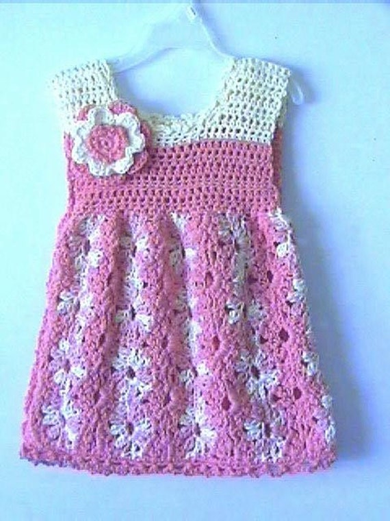 Toddler Girls Summer Dress Crochet Pattern