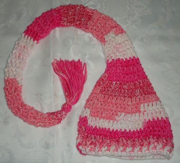 Crochet Pattern Elf Hat PDF Pattern No 33 Newborn Baby or