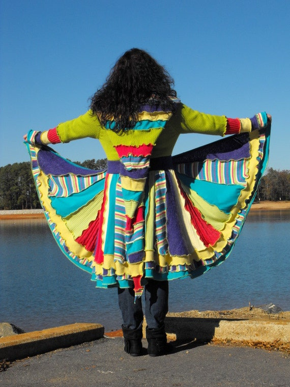 Reserved for Keri - KALEIDOSCOPE DREAM COAT