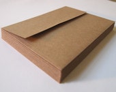 100 Earth Friendly Envelopes grocery bag size A2, handmade cards stationery letter writing