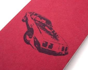 Pontiac Firebird pocket moleskine, Trans Am journal car notebook