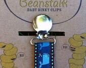 Whale Ocean Binky/Pacifier Clip or Toy Leash