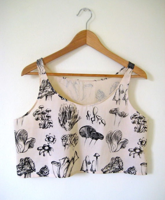RESERVED - Fungi Crop Tank for Mara