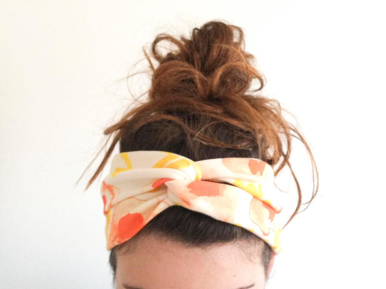 Повязка для волос своими руками фото