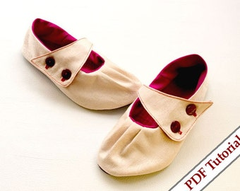 Shoes Sewing Pattern