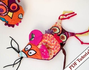 FLIP DOLL Owl and Mouse