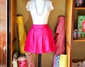 Dupioni Silk Skirt,  Custom and Made to Order in any Color