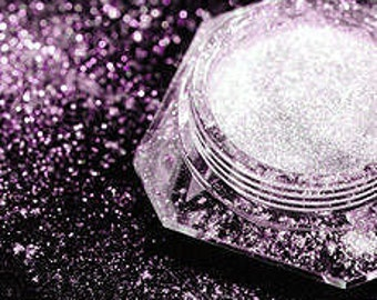 Dramatic Mirage Faery Dust Powder - Violet Void - PURPLE - mica fairy dust for fairies pigment  body powder crafts - 3 gram jar