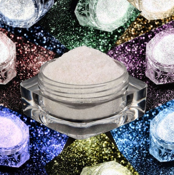 SAMPLES - Dramatic Mirage Faery Dust Powder - Full Sample Set- 8 PACK -  fairy dust body powder for fairies eye shadow pigment mica crafts