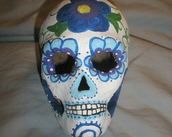Floral Day of the Dead Skull