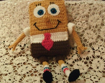 PATTERN SpongeBob Doll Pattern - DOWNLOADABLE