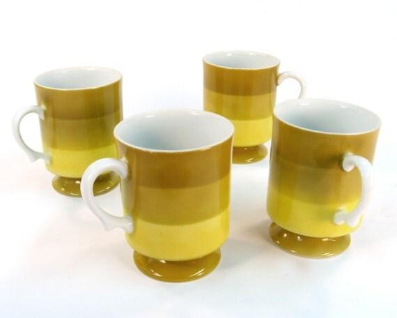 Vintage Holt Howard Tea Cups / Coffee Cups / Mid Century Serving