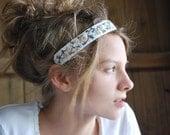Boho Headband, Festival Headband, Embroidered Headband, Woodland Wedding, Women's Headband, Forest Wedding
