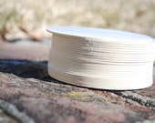 150 Blank 4 inch Round Coasters, heavyweight. Perfect for letterpress, crafts, etc