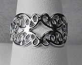 Sterling Silver Filigree Ring. Really Pretty