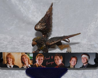 Fred and George Weasley Twins Collage Bracelet