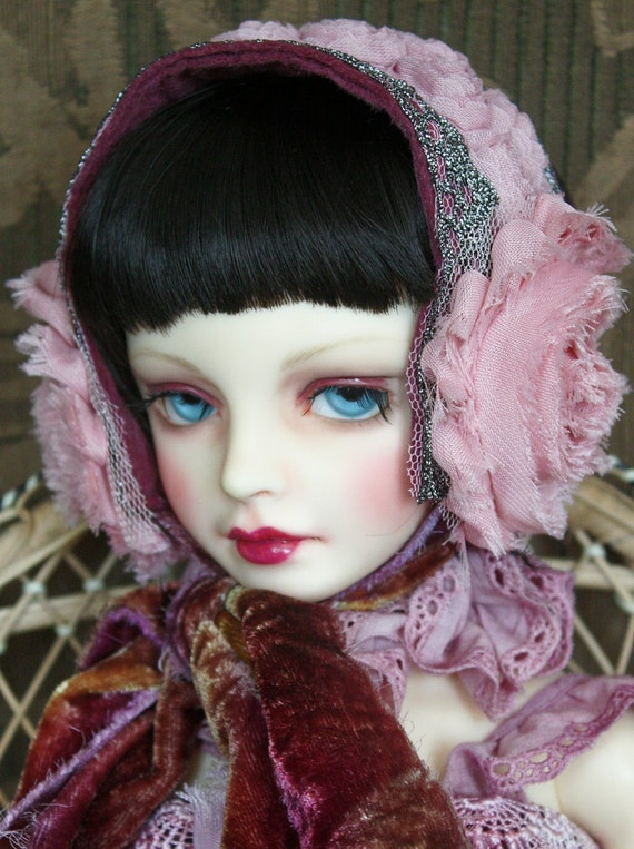 Sweet Roses Headpiece For Your Ball Jointed Doll