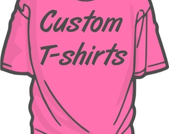 Custom Screen printed T shirts promotional products and apparel