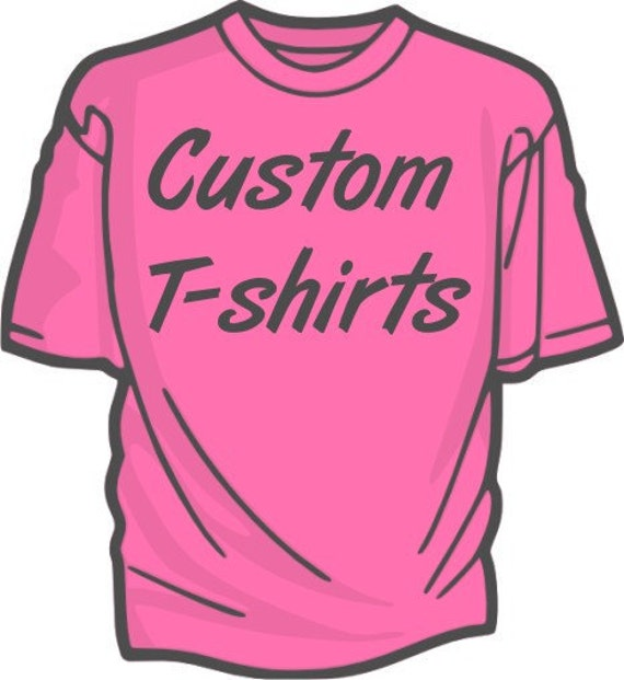 Custom screen printed t shirts promotional products by for Tee shirt logo printing