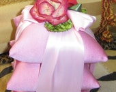 Stack of  Hot Pink Trio Sachets - 25 Percent will go to  Breast Awareness...