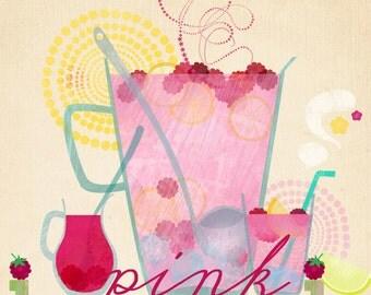 Pink Lemonade - Art Print