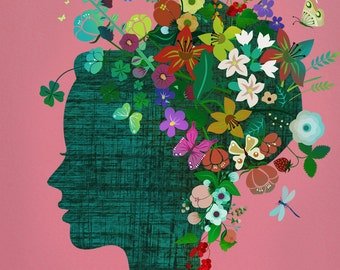 Art Print - flowerhead