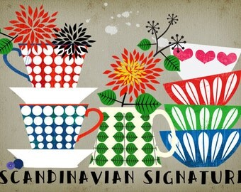 CHISTMAS SALE-Scandinavian Signature-limited edition art print