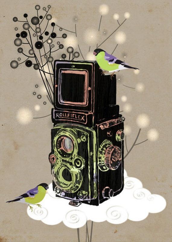 Vintage Camera Rolleiflex