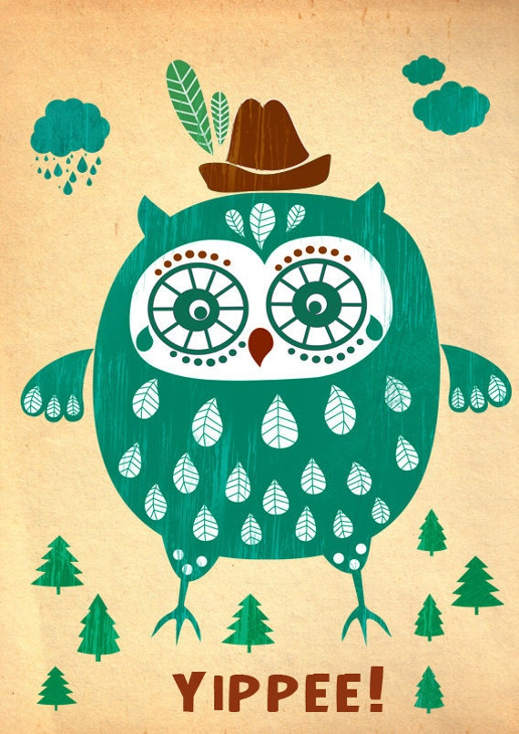 SPRING SALE - Yippee-limited edition art print of 50