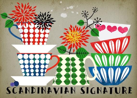 CHISTMAS SALE-Scandinavian Signature-limited edition art print