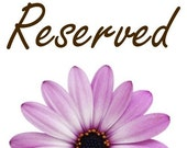 Reserved Listing for Patti