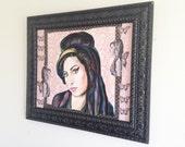Amy Winehouse Original Painting