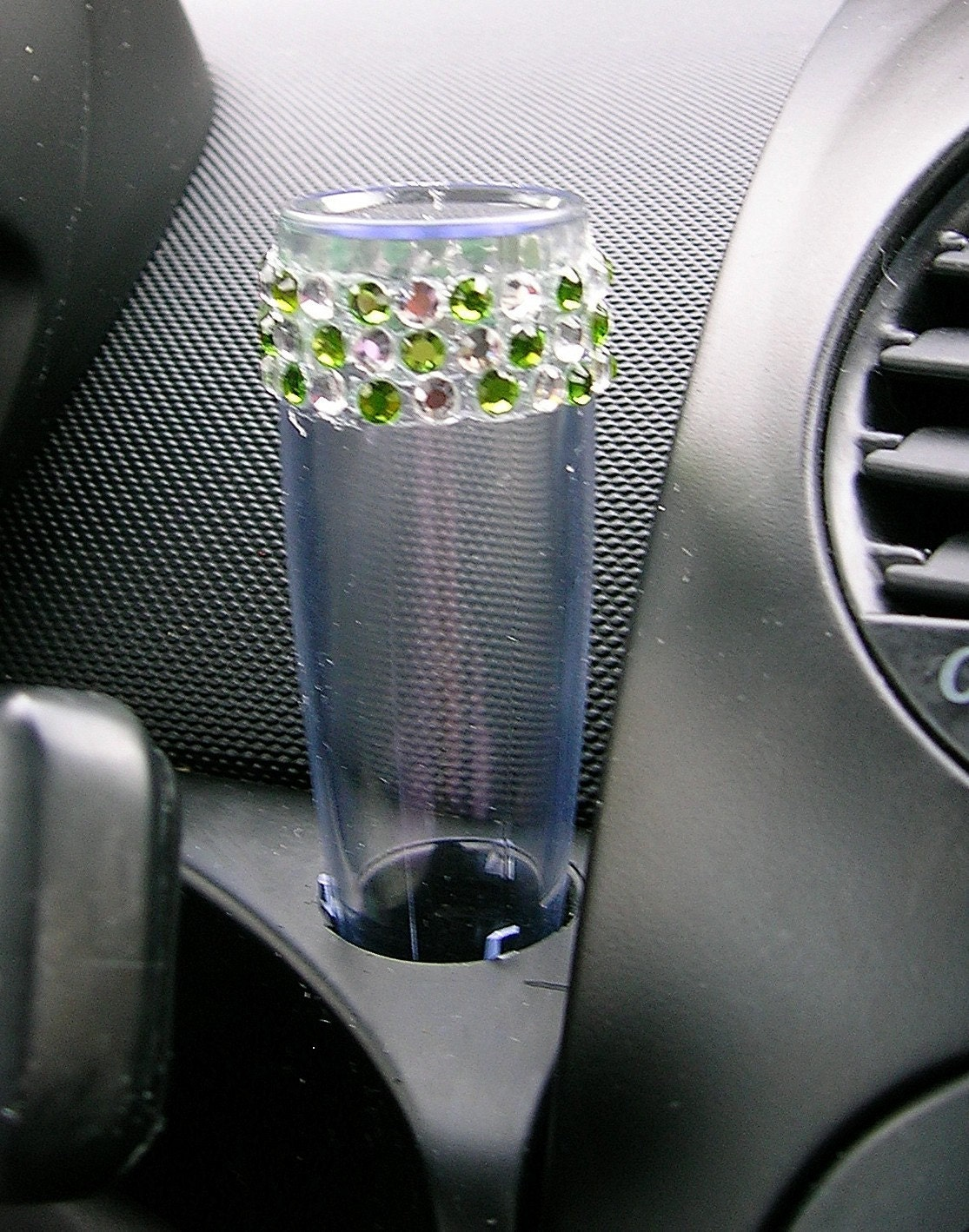 Vw Beetle Flower Vase Diamond And Green Bling