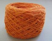 Orange Recycled Yarn - 1.1 oz