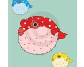 Bubbly Blowfish