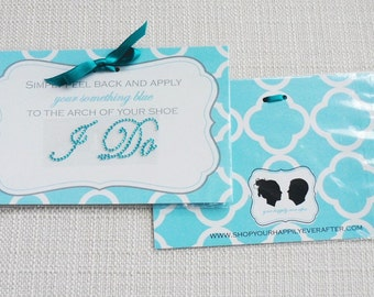I DO Wedding  Shoe Stickers - perfect Jewelry for your bridal shoes