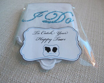 Bridal Hankie for your Something Blue