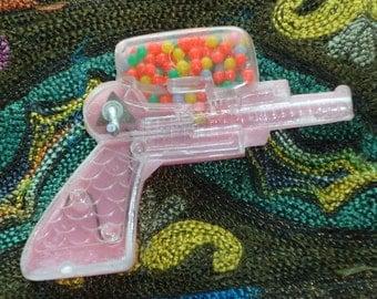 1950s Little Pink Plastic Pellet Gun