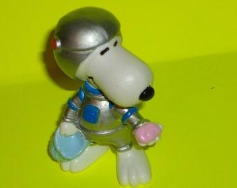 Retro 1980s Snoopy Spaceman PVC Figure