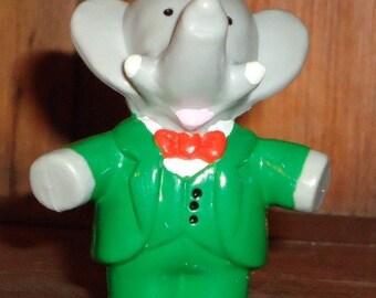 Babar Toy Elephant 1988 PVC Figure