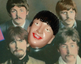 Retro 1960s Beatle Head Paul Cake Decorations The Beatles