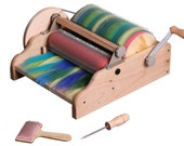 Exciting News Ashfords New Extra Wide Drum Carder Available Free Shipping Free Packer Brush And A Pound Of Merino Wool