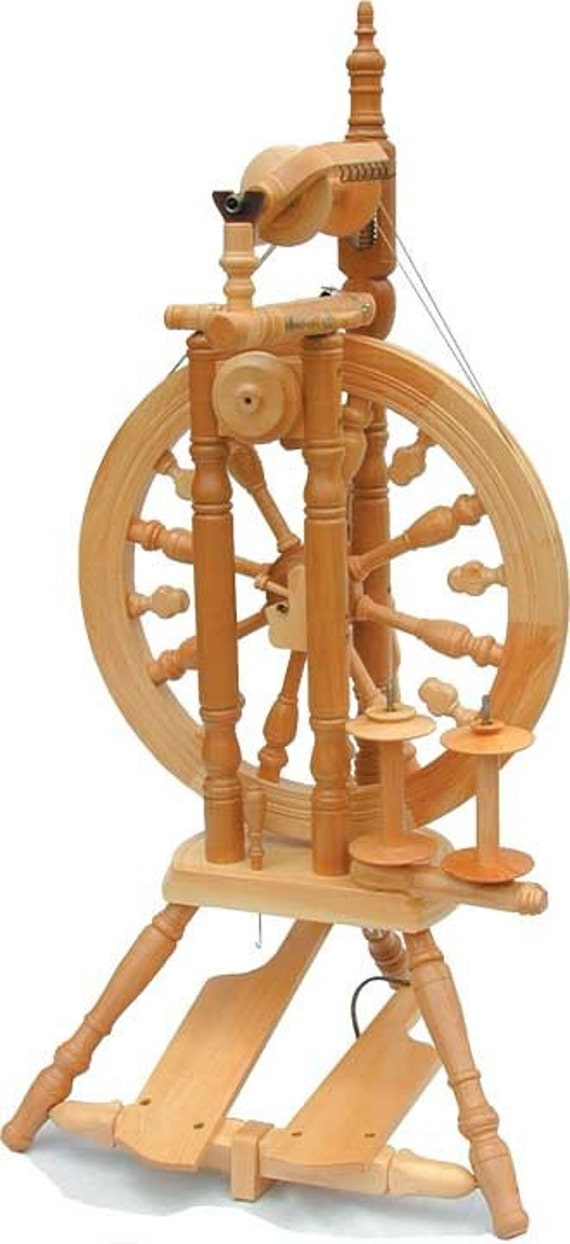 Kromski Minstrel Spinning Wheel Unfinished Free Shipping