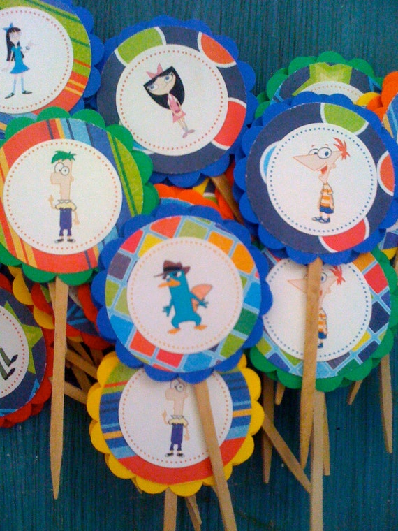 Phineas & Ferb Toppers