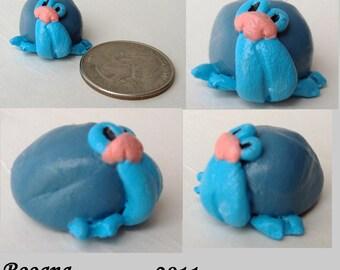 Wonderland Blue Walrus