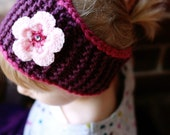 Sugar Plum Fairy Winter Headband