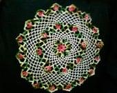 Pretty Crocheted Vintage Doily